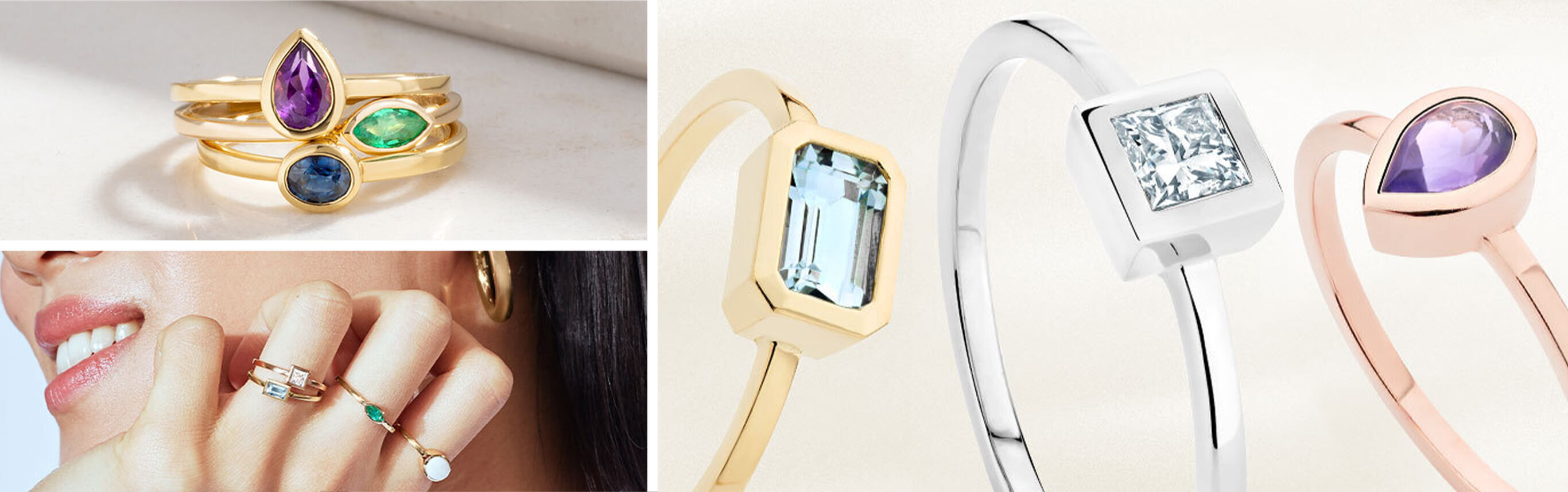 Jewellery Pieces from Ecksand's Showcase Collection