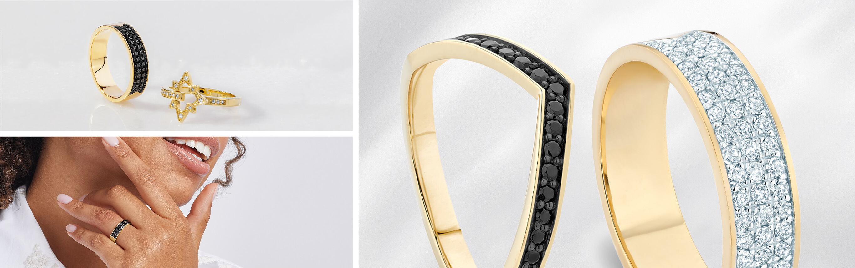 Jewellery Pieces from Ecksand's North Collection