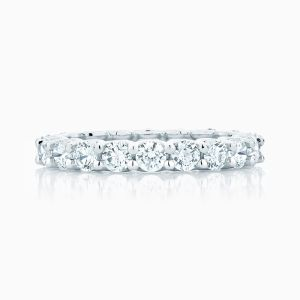 Front View of the Ecksand Diamond Eternity Ring