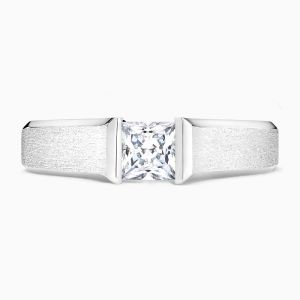 Showcase Princess Diamond Ring | Solitaire Engagement Rings | Face 02392