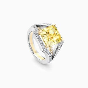 Ecksand Yellow Diamond Secret Heart Angle