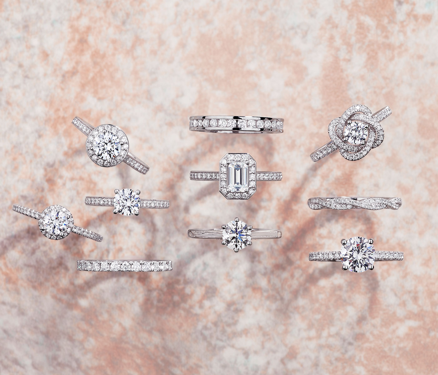 What are the most popular diamond shapes?